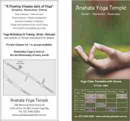Anahata Yoga Temple logo