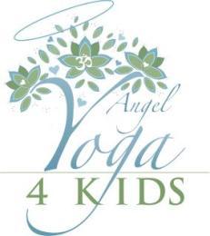 Angel Yoga 4 Kids Adults & Families logo