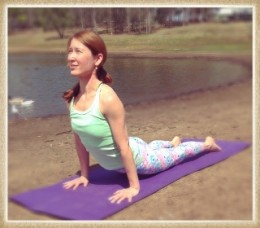 Feel Good Yoga with Karen logo