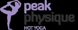 Peak Physique Hot Yoga logo