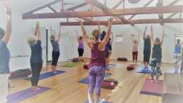 Flo Fenton's Intouch Yoga Byron Bay Teacher Training logo
