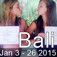200hr Bali Yoga Teacher Training January 2015
