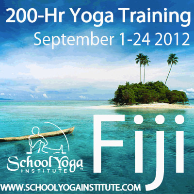 200hr Yoga Teacher Training in Fiji