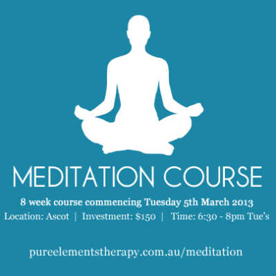 8 Week Meditation Course