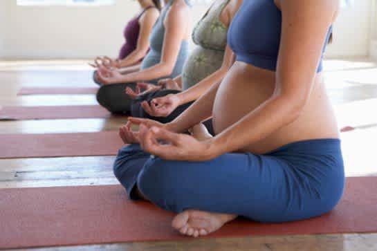 8 week Pre-natal Yoga course