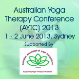 Australian Yoga Therapy Conference 2013