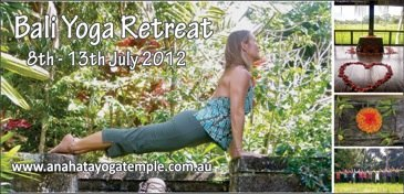 Bali Yoga Retreat 2012