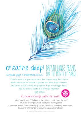 Breathe Deep - Breath Lungs Prana!