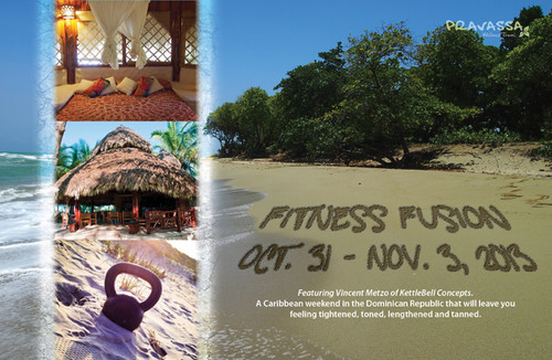 Fitness Fusion: Kettlebell and Yoga in the Dominican Republic