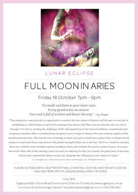 Full Moon in Aries - Lunar Eclipse - Grace