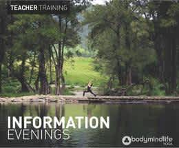 Information Evenings - Learn to Teach Yoga