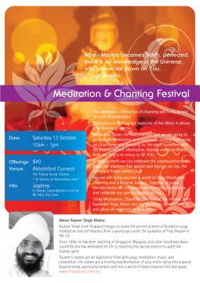 Meditation & Chanting Festival