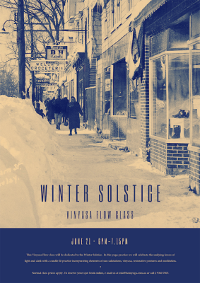 Winter Solstice Vinyasa Flow Class