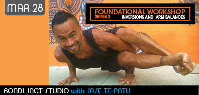 Come and learn the foundations of arm balances and inversions