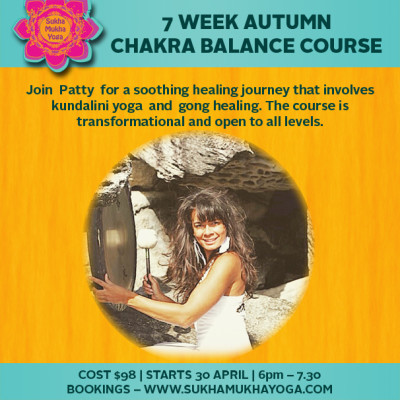 7 WEEK AUTUMN CHAKRA BALANCE COURSE
