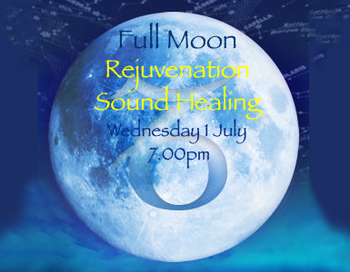 Rejuvenation Sound Healing for Full Moon in Capricorn