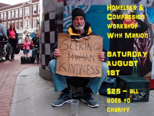 Homeless and Compassion