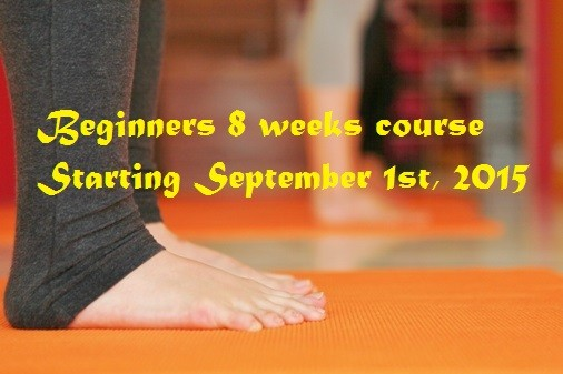 8 week beginners course at Sukha Mukha Yoga - Bronte