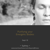 Santiago is a modern spiritual leader who is coming to Australia, not to teach you, but to remind your Soul how to heal and purify your Energetic Bodies, clean them of fears and limiting beliefs, and awaken the true vitality that will allow your Inner Self to shine as intensely as it is meant to.