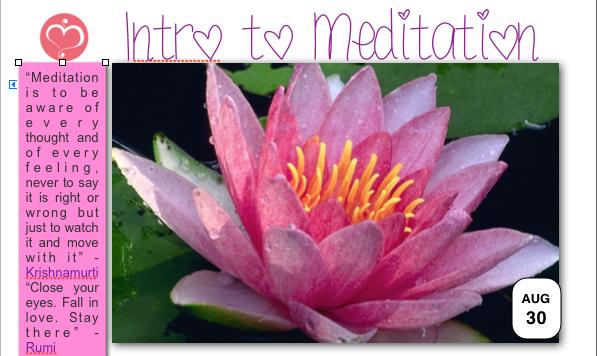meditation clayfield yoga studio