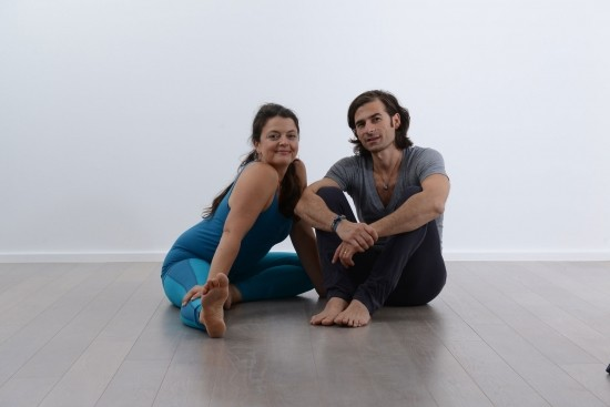 Moving Deeper Into Yoga Practicing the 8 limbs of Ashtanga Yoga with Romana Delberg and Sascha Delberg