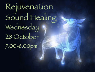 Rejuvenation Sound Healing : Full Moon in Taurus