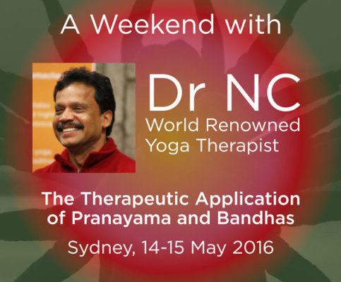 The Therapeutic application of Pranayama and Bandhas with DR NC