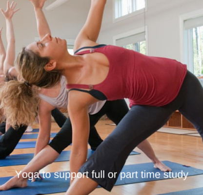 Yoga to support full or part time study