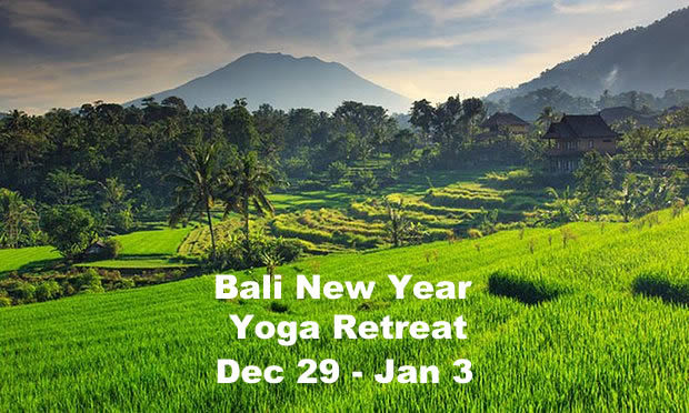 New Years Eve Yoga Retreat Bali 2017