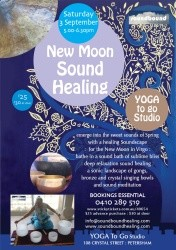 New Moon Sound Healing September 3rd