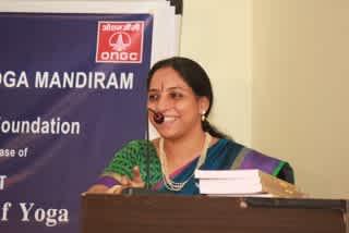 Nrithya Jagannathan presenting ANTARANGA YOGA – EXPLORING THE INNER LIMBS OF YOGA.