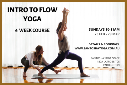 Intro to Flow Yoga: 6 week course