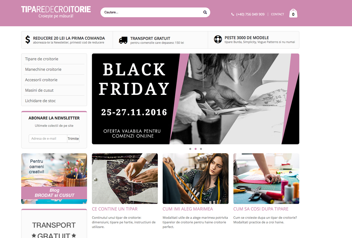 TipareDeCroitorie - Magento Store