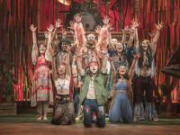 Hair the Musical Cast on Stage