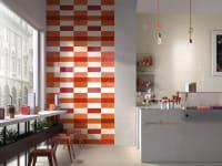 Tileflair red orange milano kitchen