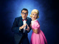 Rocky Horror Returns Ben Adams and Joanne Clifton as Brad and Janet