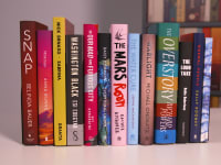 2018 Man Booker longlist shelf