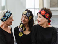 Mothers Day Gifts Bianca Elgar Three Generations Head Scarves