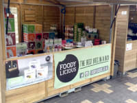 Foodylicious Product Stand