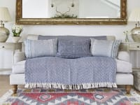 Function and style in a rural home Weaver Green Rugs