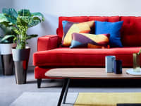 Heals Mistral Sofa Red