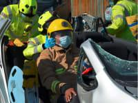 IMAGE Car cut Didcot mayor low res