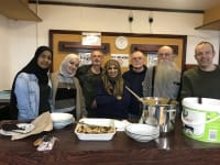Shabnam Sabir with Oxford Homeless Project