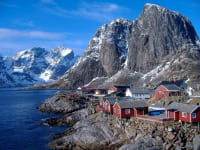 LOFOTEN Islands Mountains