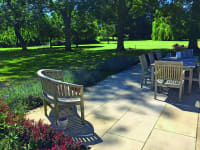 Landscaping a Natural Mind Spa Landscaped Garden
