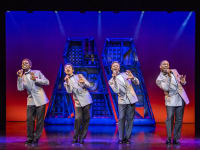 Motown The Musical The Four Tops credit Tristram Kenton