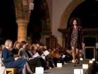 Nellie Dove fashion show