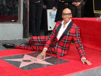 This month channelling Rupaul Charles Hollywood star