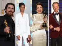The British are coming Christian Bale Letitia Wright Olivia Colman Richard E Grant Rachel Weisz