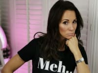 Andrea McLean Confessions of a Menopausal Woman Meh Shirt
